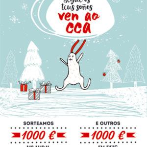 Comeza a campaña de nadal do CCA Carballo